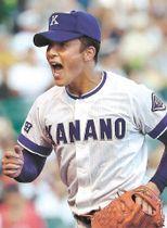 近江との準々決勝で4試合連続となる2桁奪三振の好投を見せた金足農の主戦吉田