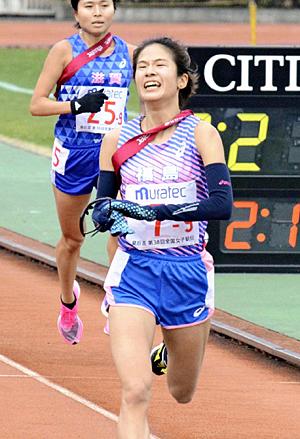 福島県チーム...追い上げも「22位」 全国都道府県対抗女子駅伝