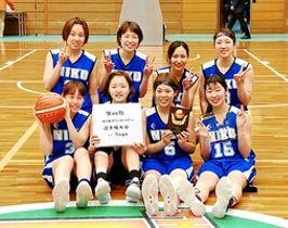 福井県勢最高の女子3位に輝いたniko=佐賀県総合体育館