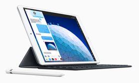 米アップルの新型「iPad Air」(アップル提供)