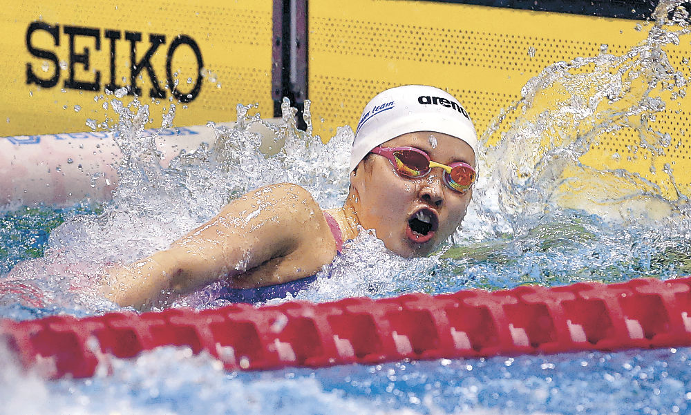金沢が3年ぶり優勝 石川県高校水泳学校対抗総合、女子は金沢学院6連覇