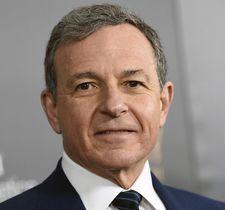 ウォルト・ディズニーのロバート・アイガー会長兼CEO(AP=共同)
