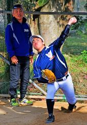 小5で脳脊髄液減少症に 病と闘い公式戦目指す、沖縄の高校球児