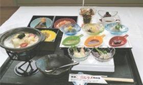 青森・東通でヒラメざんまい コース料理披露