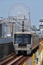 地上区間を走る横浜市営地下鉄グリーンライン